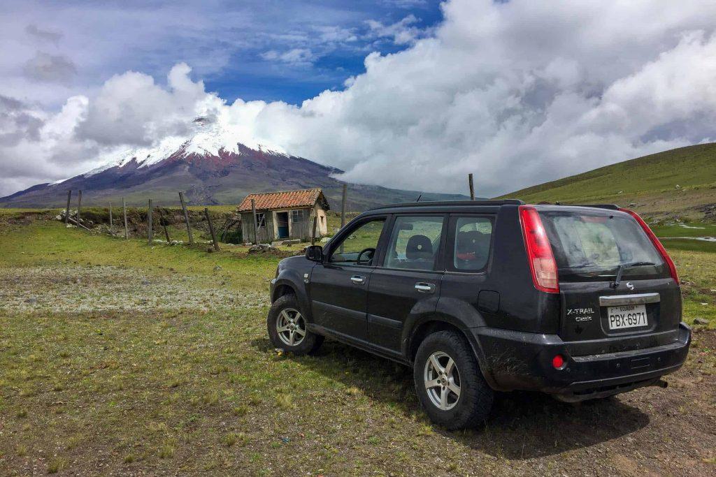 Rent a car in Ecuador