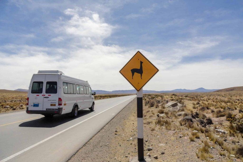 Ren a bus in Ecuador